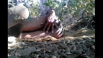 Desi Tarzan Boy Sex With Bottle Gourd In Forest