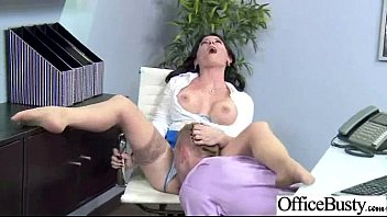 gorgeous office whore damsel casey cumz with fat.