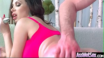 Sexy Oiled Big Ass Girl (Nikki Benz) Enjoy Hard Anal Sex video-21