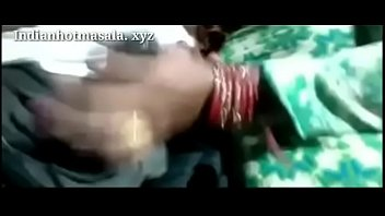 indian magnificent fresh married bhabhi doing supah hot job
