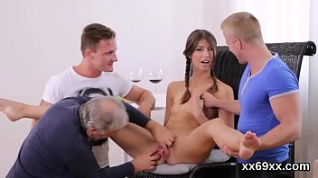 paramour assists with hymen corporal and banging of.
