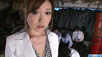 aiko hirose gets boinked by all her office.