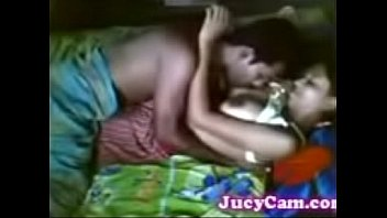 husband sucking wife boobs and wild sex