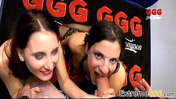 kinky german whore gets group intercourse.