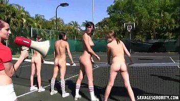 supah hot tennis jock supersluts stuff eachothers pussys.