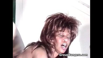 black and her pal get plowed
