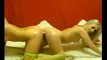 russian gals lera and nastya have romp on.
