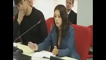 svitlana paschenko conversing at kiev university