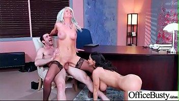 Hardcore Sex With Sluty Big Round Boobs Office Hot Girl (Ava Addams &_ Riley Jenner) clip-05