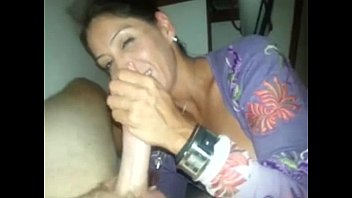 Threesome action for horny mature wife