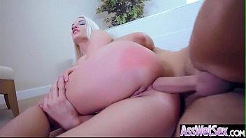 (Blanche Bradburry) Gorgeous Girl With Huge Ass Enjoy Deep Anal Bang clip-12