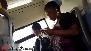 flashporn.in - black women watching porn in public bus caught