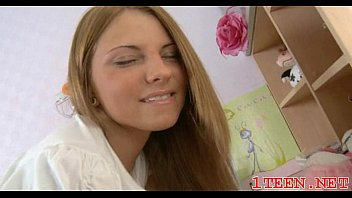 nude teenager dame gets pulverized sideways