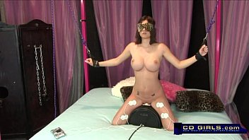 codi milo gets roped up and electroshock while.