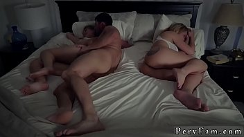 World class blowjob and beautiful 18 anal Stepdads Side Of The Bed