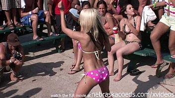 dirty dancing on spring break bathing suit soiree ladies