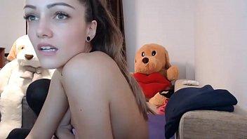 Teen Camgirl Masturbates in Stockings CamGirlsAmateur(dot)com