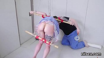 kinky lady is taken in rosy pucker asylum.