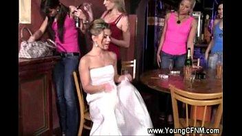 Future bride n friends partying