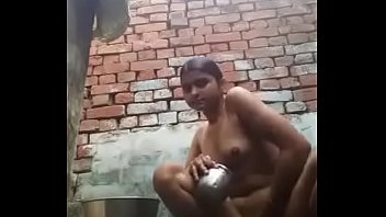 Desi wife boob and nipple press