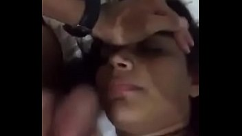 scorching pop-shot on indian teenie face