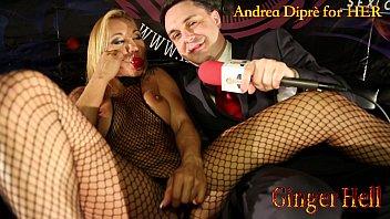 Ginger Hell puts a lollipop in her vagina for Andrea Dipr&egrave_