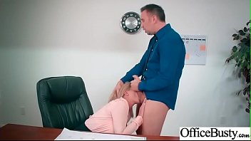 (Brooklyn Chase) Big Round Boobs Girl In Hard Sex In Office clip-07