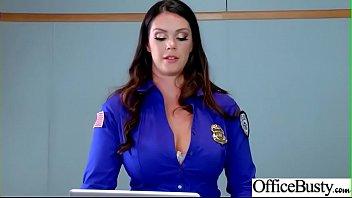 Office Sluty Girl (Alison Tyler &amp_ Julia Ann) With Big Round Boobs Banged Hard video-01