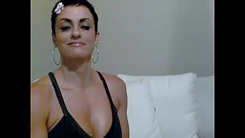 stunning brief haired woman - visit sweetcam69com for more