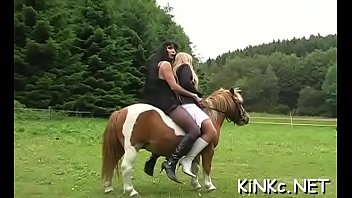 Female domination with hard whipping and riding naked serf