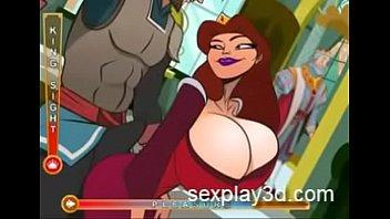 3D Hentai sex game Fucking the kingdom'_s slut queen