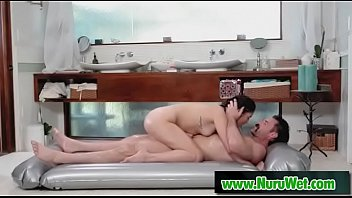 charlesdera amp_ vanessasky - sensuous porking during nuru rubdown