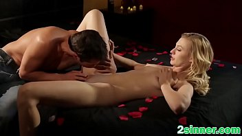 captivating blond is having heavy ejaculation while fellow.