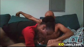 African girl give head to a bbc for cum