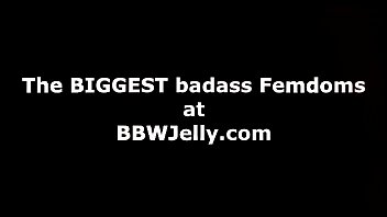 BBW Femdom uses skinny guy for fucking duty