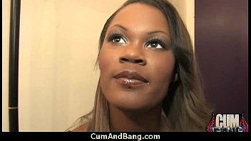 ebony lady gets group-drilled by a group of.