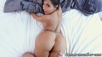 Bigbooty latina POV drilled on all fours