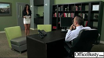 Sex In Office With Busty Slut Nasty Girl video-12