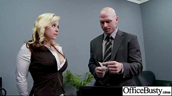 (sarah vandella02) Busty Office Slut Horny Girl Banged clip-27