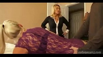 mommy catches daughter-in-law pulverizing and joins in on collegecamzcom