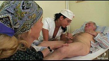 Old Man'_s And Nubile Nurse Fuck