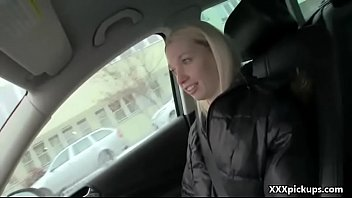 Public Blowjob With Sexy Amateur Czech Teen For Money 04