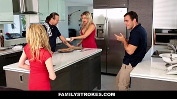 familystrokes - step sista fellates and screws brother-in-law.