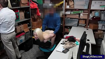 blondie nubile thief oral lovemaking and vulva plowed.
