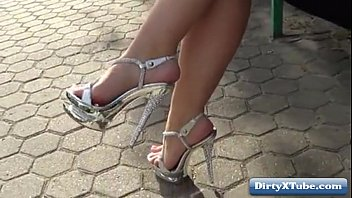 Hot high heels amateur nudity &amp_ voyeur HD