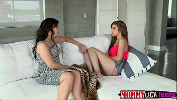 Teen Brooke and MILF Naomi shares and plays big vibrator