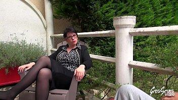 Baise anale pour la maîtresse d'_école - Gros Seins Video