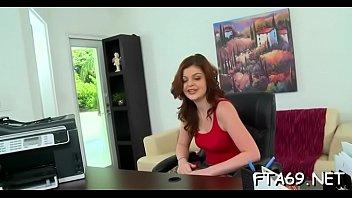 Deliciously fuckable slut gets super wet and gangbanged hard