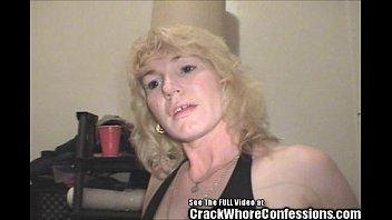 Skanky blonde crackwhore Bethany life long hooker