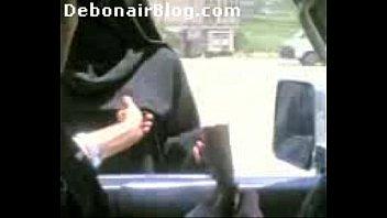 iraq Slut boob press